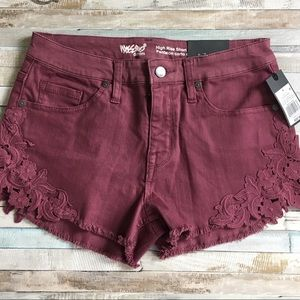Mossimo High-Rise Stretch Denim Shorts